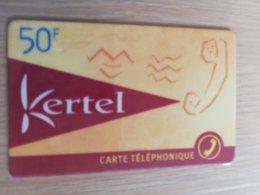 FRANCE/FRANKRIJK   KERTEL 50 F      PREPAID  USED    ** 1493** - Nachladekarten (Handy/SIM)