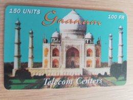 FRANCE/FRANKRIJK   GNANAM 100FR    PREPAID  USED    ** 1496** - Nachladekarten (Handy/SIM)