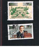 ITALIA REPUBBLICA  - UNIF. 2205.2206            -   1995 GUGLIELMO MARCONI                   -            USATO - 6. 1946-.. Repubblica