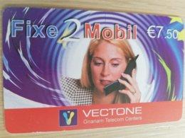 FRANCE/FRANKRIJK   FIXE 2 MOBIL € 7,5   PREPAID  USED    ** 1497** - Nachladekarten (Handy/SIM)