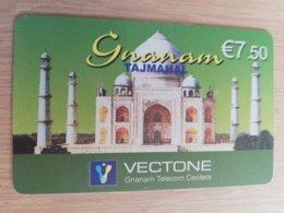 FRANCE/FRANKRIJK   GNANAM GREEN  € 7,5   PREPAID  USED    ** 1498** - Nachladekarten (Handy/SIM)