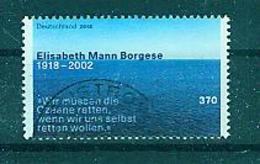 BUND--Elisabeth Mann Borgese, Gestempelt - Oblitérés