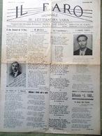 Il Faro Del 29 Giugno 1935 Civitavecchia Autobbusse Scetticismo Forestiero Roma - Guerra 1914-18