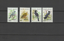 Malawi 2017 Birds Set Of 4 With Overprint Of New Value MNH - Malawi (1964-...)