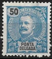 Ponta Delgada – 1897 King Carlos 50 Réis - Ponta Delgada