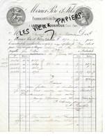 81 - Tarn - LABASTIDE-ROUAIROUX - Facture MERCIER - Fabrique De Draperies - 1883 - REF 141C - 1900 – 1949
