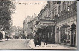 MONTLUCON - Boulevard De Courtais    CAFE GLACIER - Montlucon