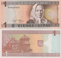 Lithuania / 1 Litas / 1994 / P-53(a) / UNC - Lituania