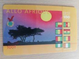 FRANCE/FRANKRIJK  ALLO AFRIQUE 100 FR  PREPAID  USED    ** 1511** - Nachladekarten (Handy/SIM)