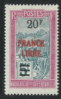 MADAGASCAR 1943 YT 255** - Madagascar (1889-1960)