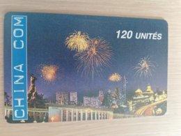 FRANCE/FRANKRIJK  CHINA COM 120 UNITES  PREPAID  MINT     ** 1513** - Nachladekarten (Handy/SIM)
