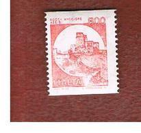 ITALIA  - UNIF. 1980 - 1991 CASTELLI X DISTRIB. AUT.: ROCCA MAGGIORE  800 LIRE      - NUOVI **(MINT) - 1946-.. République