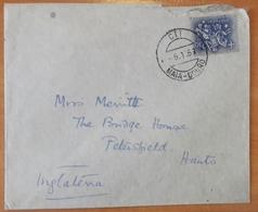 Portugal - COVER - Stamp: 2$30 Selo De Autoridade Do Rei D. Dinis - Cancel: MAIA - DOURO 1953 - 1910-... Republic