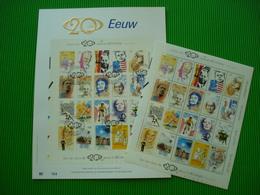 Genummerd Luxe Kunstblad Met Gouddruk 23 Karaat ** 20ste Eeuw ** + Postfrisse Blok ** 83 ** - Blocks & Sheetlets 1962-....