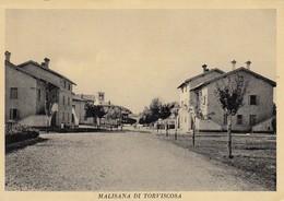 MALISANA DI TORVISCOSA-UDINE-CARTOLINA VERA FOTOGRAFIA- VIAGGIATA IL 6-2-1971-PRODUZIONE ANNI 50 - Udine