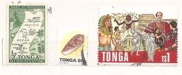 Tonga - Lotto Di 3 Francobolli Usati - Senza Album!!!! - Tonga (1970-...)
