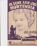 Ik Denk Aan Jou Hortensia. - Spartiti