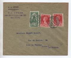 1923 - ENVELOPPE De 'S GRAVENHAGE Pour LONS LE SAUNIER (JURA) - Poststempel