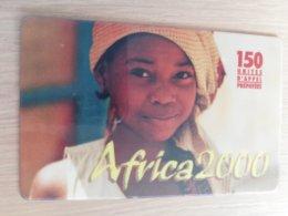 FRANCE/FRANKRIJK  AFRICA 2000 150 UNITS PREPAID       ** 1520** - Nachladekarten (Handy/SIM)