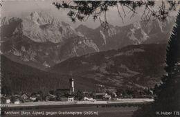 Farchant - Gegen Dreitorspitze - 1955 - Garmisch-Partenkirchen