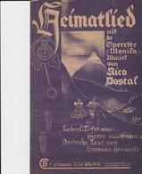 Heimatlied. - Noten & Partituren