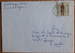 Portugal - COVER - Stamp: Profissões E Personagens Séc. XIX - Cancel: VILA POUCA DE AGUIAR 2001 - 1910-... Republic