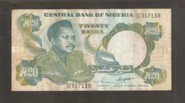 NIGERIA 2O NAIRA - Nigeria