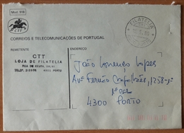 Portugal - COVER - FRANCHISE / TAXA PAGA - Cancel: FILATELIA / PORTO 1980 - Franchise