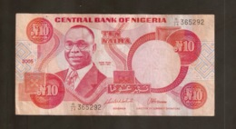 NIGERIA 10 NAIRA 2005 - Nigeria