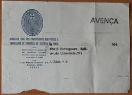 Portugal - POST CARD - FRANCHISE / AVENÇA - Sindicato Livre ... Do Porto - Franchise