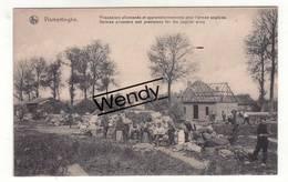 Vlamertinge (prisonniers Allemands Et Approvisionnements Pour L'armée Anglaise) - Ieper