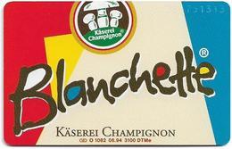 Germany - Champignon Käserei 3 - Blanchette - O 1082 - 06.94, 6DM, 3.100ex, Mint - Germany