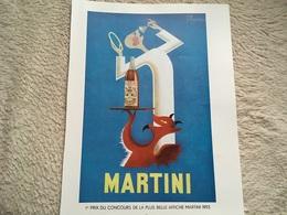 -pub - Publicité - Apéritif - Martini - F. Marcou - Ange Et Démon  - 1958 - - Publicités
