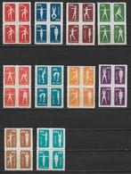 CHINE République Populaire 1952 - Culture Physique (Réimpressions) YT 933 à 942 ** Cote : 40 Euros - 1949 - ... République Populaire