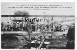 D 72 - LE MANS - Camp D'Auvours - L'Aeroplane De WILBUR WRIGHT - Le Mans