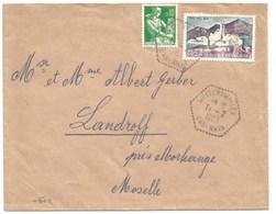 H592 - WEITERSWILLER - 1963 - Bas Rhin - - Marcophilie (Lettres)