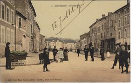 54 - BACCARAT - GRANDE RUE - CARTE COULEURS STYLISEE - Baccarat