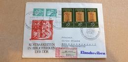 DDR Beleg Mit Sonderstempel Leipzig IFLA-Generalversammlung 1981 Bibliotheken EBERS PAPYROS - Marcofilia - EMA ( Maquina De Huellas A Franquear)