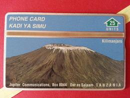 TANZANIA L&G 25u Mount Kilimandjaro CN : 901L Tirage 13000 Ex - MINT ? Neuve ? Tanzanie Kilimanjaro (TT320 - Tansania