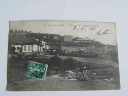 RHONE-BOURG DE THIZY-39-L'HOPITAL ET LA MONTEE DU BOURG-ANIMEE - Altri Comuni