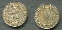 LEOPLOD II - 10 CENTIMES 1894 - 1865-1909: Leopold II