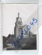 """77 Nangis ( Seine Et Marne ) Vue Arrière De L'église Prise Depuis La Cour Des Maisons En Hauteur  - """" Carte """"  Photo - Nangis"""