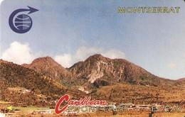 *MONTSERRAT - 3CMTB* - Scheda Usata - Montserrat