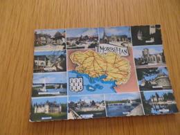 MORBIHAN - Carte Département - N°2 - Cachet Annulation ANGLURE N°51-009 - Non Classés