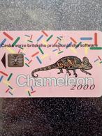 TCHECOSLOVAQUIE CAMELEON KAMELEON 100U UT N° C33041185 - Tchécoslovaquie