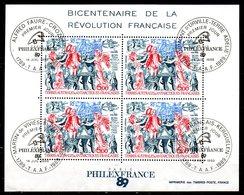 TAAF. BF 1 Oblitéré De 1989. Révolution Française. - Franz. Revolution