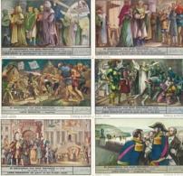 1525 L'Histoire De Nos Provinces Liège - DE GESCHIEDENIS VAN ONZE PROVINCIES: LUIK - Complete Liebig Serie - Liebig