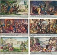 1524 L'Histoire De Nos Provinces Hainaut DE GESCHIEDENIS VAN ONZE PROVINCIES-HENEGOUWEN - Complete Liebig Serie - Liebig