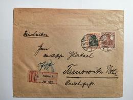 Deutsches Reich  Briefumschlag 1919 - Allemagne