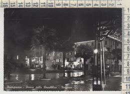 PORTOGRUARO VENEZIA PIAZZA DELLA REPUBBLICA NOTTURNO NIGHT NO VG - Venezia (Venice)